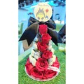 25cm Totoro x Red Strawberry Tower (Small)