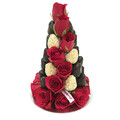 25cm Black & Red Strawberry Tower (Small)